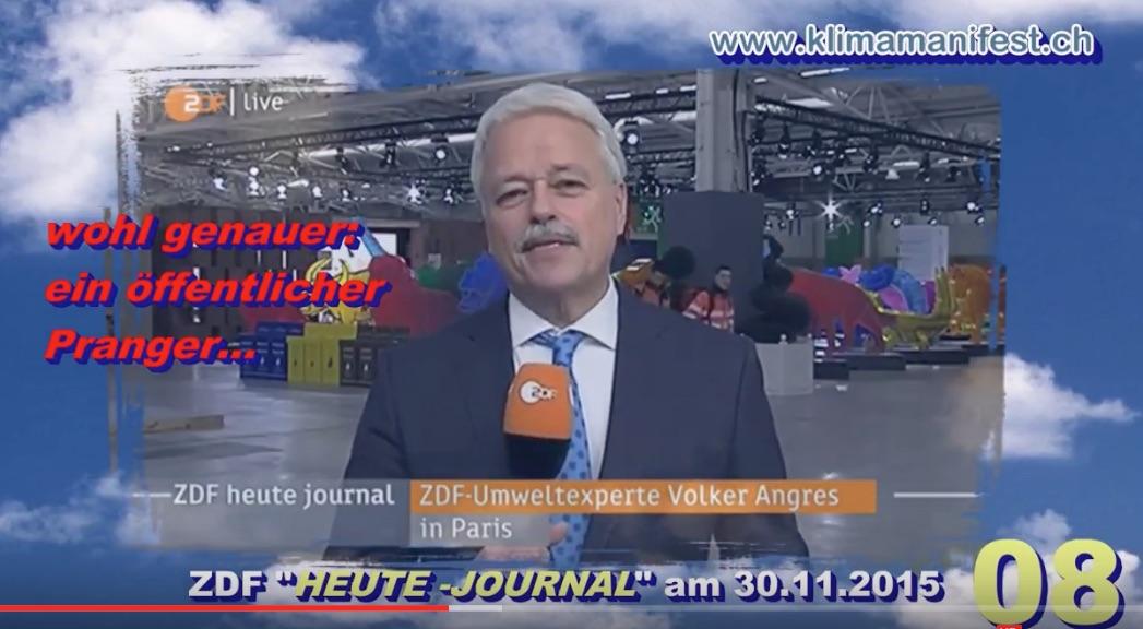 Volker Angres vom ZDF in Paris am 30.11.15