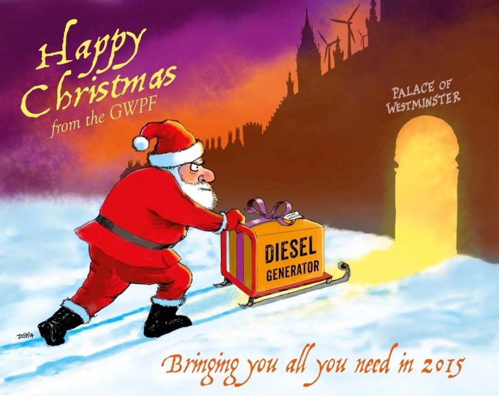 EIKE wünscht allen Leserinnen und Lesern ein frohes Weihnachtsfest ...