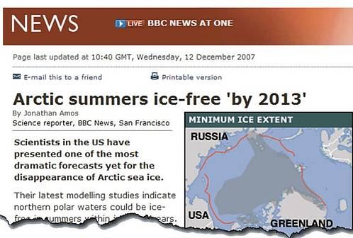 Erholung des arktischen Eises: Spitzenwissenschaftler sagen Periode ...