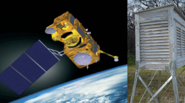 messung der globalen temperatur satelliten oder thermometer