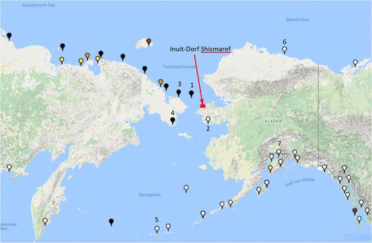 Ein Inuit-Inseldorf in Alaska beschloss aus Furcht vor dem ...