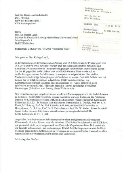 Artikel von Prof. Dr. Horst-joachim Lüdecke - EIKE - Europäisches ...