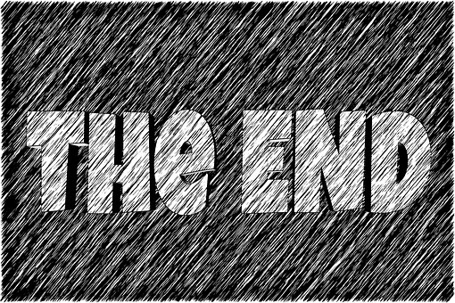 The end Pixabay Geralt -2042304__340