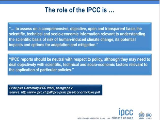 IPCC Mandate April 2017 Thelma Krug Vice-Chair