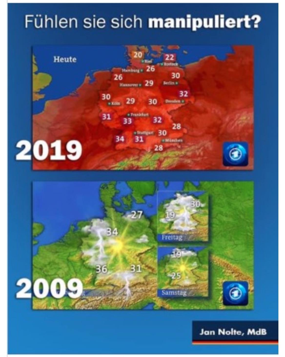 ArD Wetterkarte 2009-2019