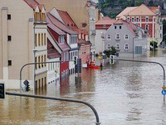 Elbhochwasser, Meissen ; Quelle: pixabay